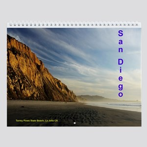 More San Diego County Sights Wall Calendar