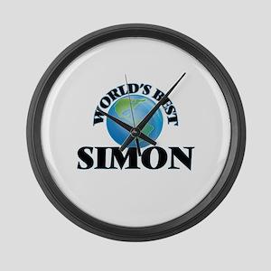 World's Best Simon Large Wall Clock