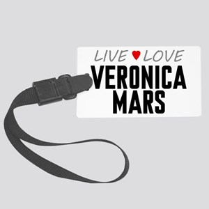 Live Love Veronica Mars Large Luggage Tag