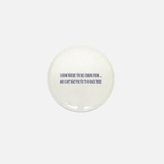 I Know Mini Button