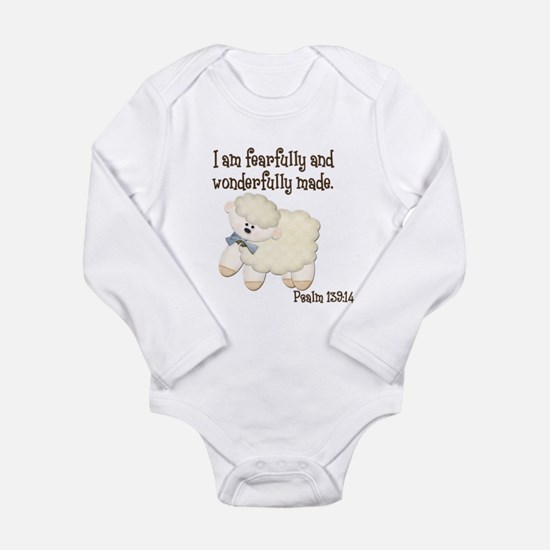 Wonderfully Made Sheep Body Suit