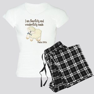 Wonderfully Made Sheep Women's Light Pajamas