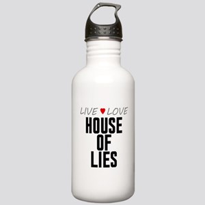 Live Love House of Lies Stainless Water Bottle 1.0