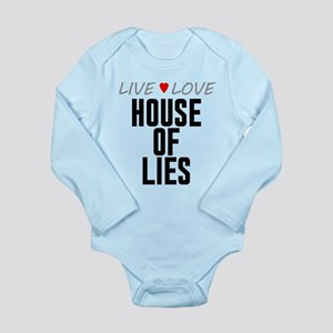 Live Love House of Lies Long Sleeve Infant Bodysui
