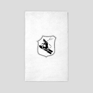 Kampfgeschwader z.b.V. 1 Abzeichen 3'x5' Area Rug
