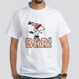 Snoopy Brr! White T-Shirt
