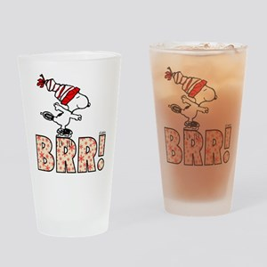 Snoopy Brr! Drinking Glass