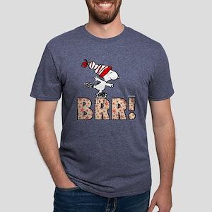 Snoopy Brr! Mens Tri-blend T-Shirt