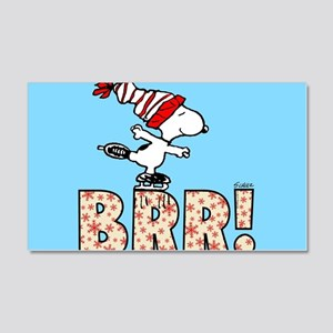 Snoopy Brr! 20x12 Wall Decal