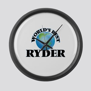 World's Best Ryder Large Wall Clock