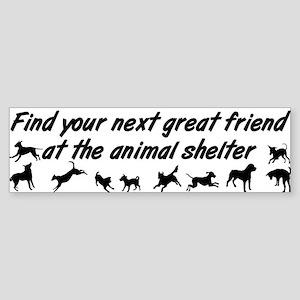 Next Best Friend Sticker (Bumper)