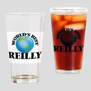 World's Best Reilly Drinking Glass