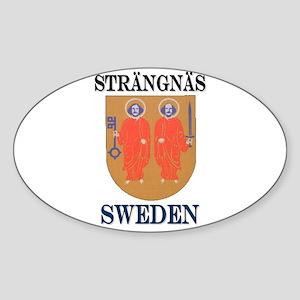 The Sölvesborg Store Oval Sticker