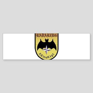 Radarzug 11 EinsKtgtEinsatzkontinge Bumper Sticker