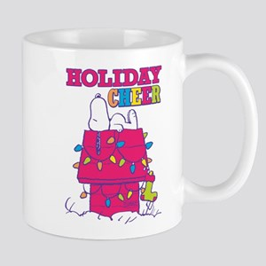 Snoopy Holiday Cheer 11 oz Ceramic Mug
