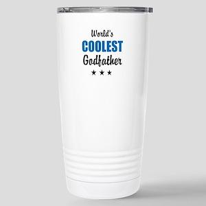World's Coolest Godfather Travel Mug