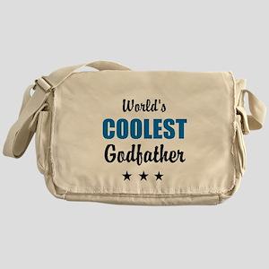 World's Coolest Godfather Messenger Bag
