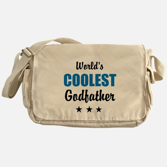 World's Coolest Godfather Messenger Bag