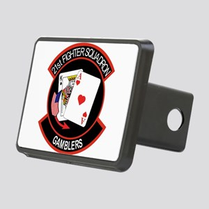 21st_f16 Rectangular Hitch Cover