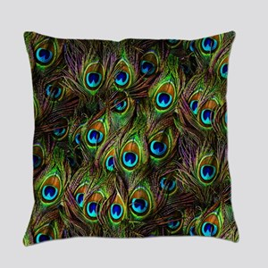 Peacock Feathers Invasion Master Pillow