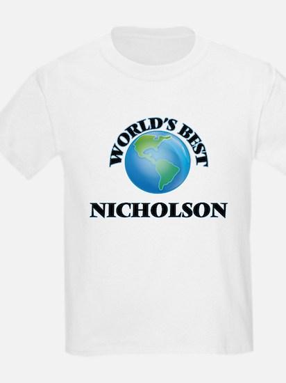 World's Best Nicholson T-Shirt
