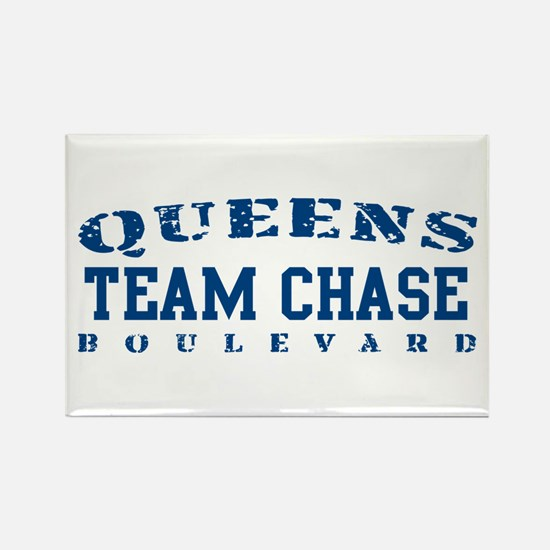 Team Chase - Queens Blvd Rectangle Magnet