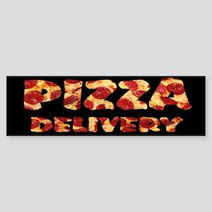 Pizza Delivery Bumper Sticker