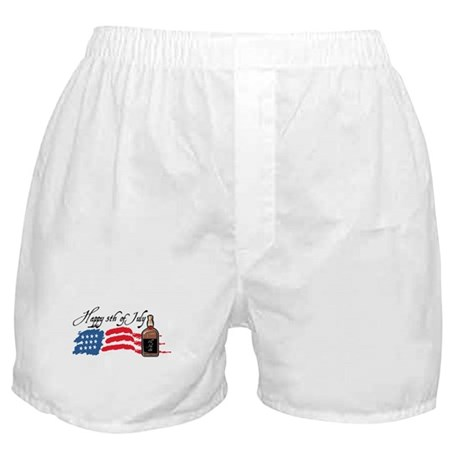 Happy Fifth of July v2 Boxer Shorts