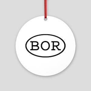 BOR Oval Ornament (Round)