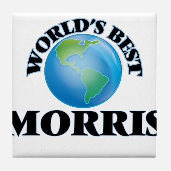 World's Best Morris Tile Coaster