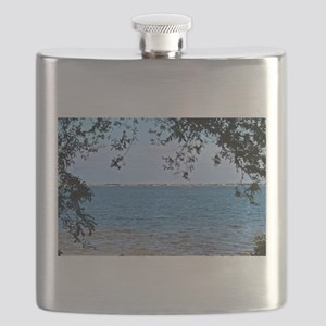 Ocean View Through the Trees Flask