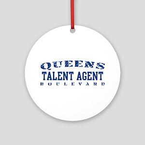 Talent Agent - Queens Blvd Ornament (Round)