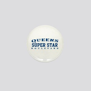 Super Star - Queens Blvd Mini Button