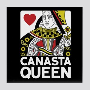 Canasta Queen Tile Coaster