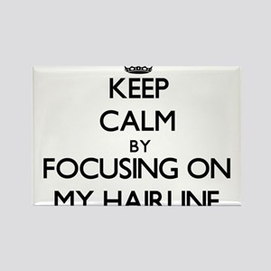Keep Calm by focusing on My Hairline Magnets
