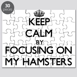 Keep Calm by focusing on My Hamsters Puzzle