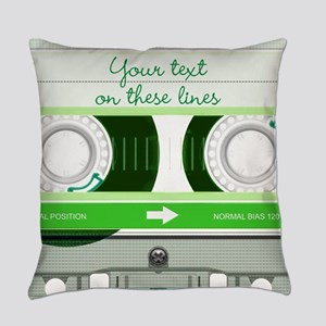 Cassette Tape - Green Master Pillow