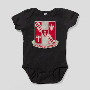 44th Army Engineer Battalion Baby Bodysuit