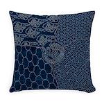 Sashiko-style Embroidery Master Pillow