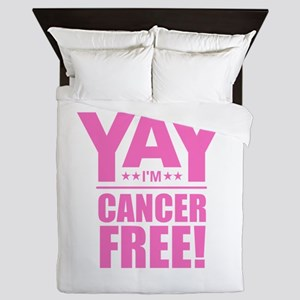 Cancer Free - Pink Queen Duvet