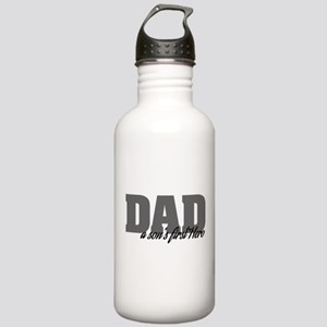 A Son's First Hero Stainless Water Bottle 1.0L
