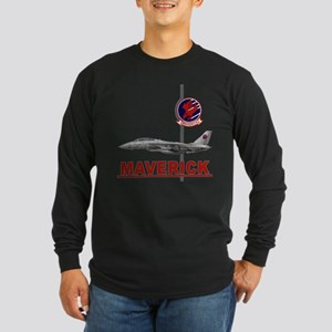 Top Gun Long Sleeve Dark T-Shirt