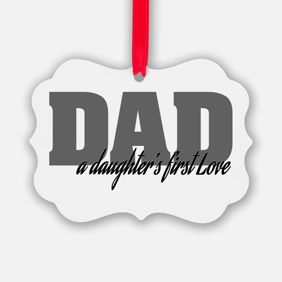 A Daughter's First Love Ornament