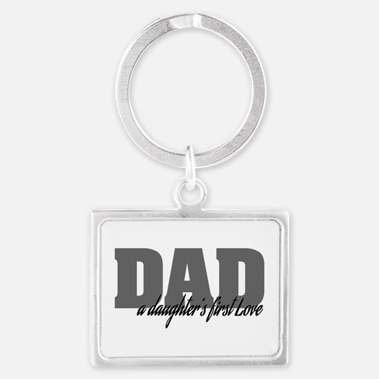 A Daughter's First Love Landscape Keychain