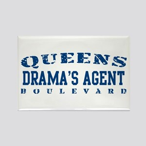 Drama's Agent - Queens Blvd Rectangle Magnet