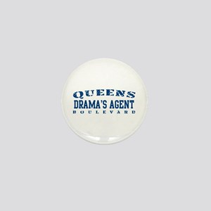 Drama's Agent - Queens Blvd Mini Button