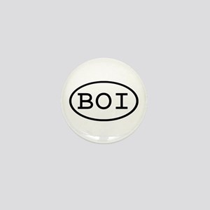 BOI Oval Mini Button