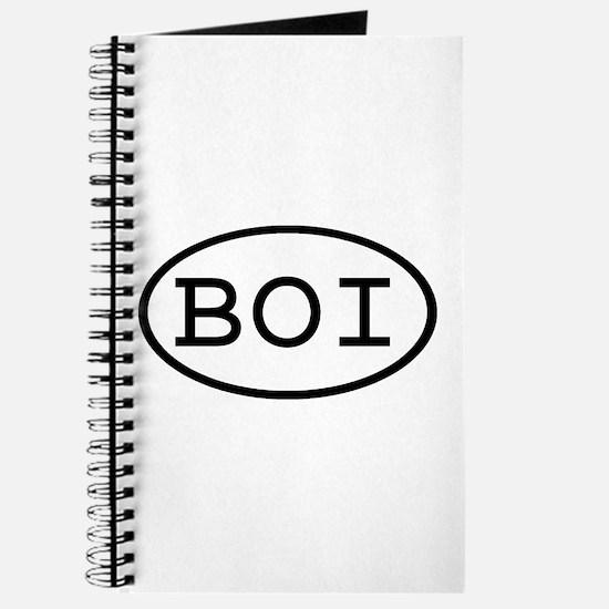 BOI Oval Journal