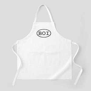 BOI Oval BBQ Apron