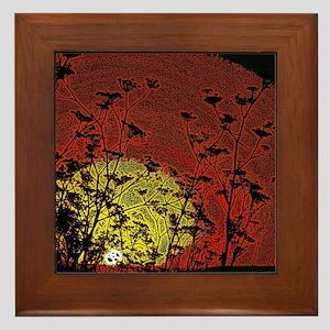 Bloody Sunrise Framed Tile